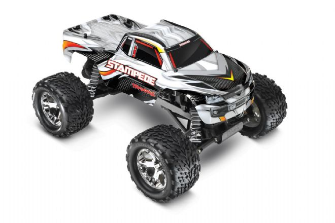 TRX-36054-1 Traxxas Stampede 2WD XL-5 iD Brushed Truck White